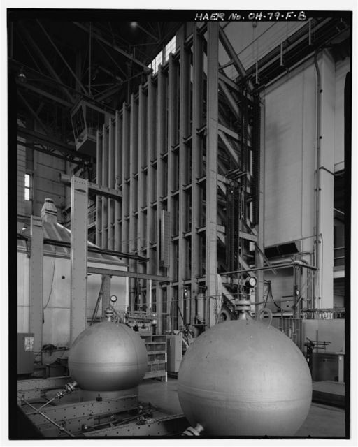 Wright-Patterson Air Force Base, Area B, Building 65, Static Structural Test Laboratory, Between Eleventh & Twelfth Streets, Dayton, Montgomery County, OH