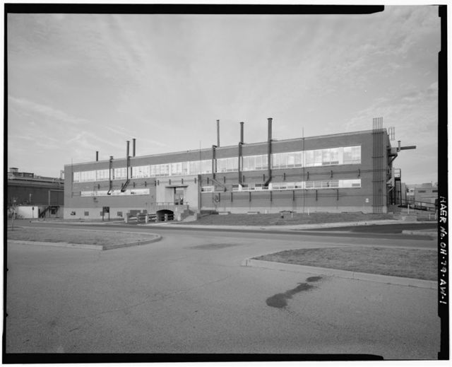 Wright-Patterson Air Force Base, Area B, Building 70, Fuel & Oil Test Laboratory, East side of C Street between Sixth & Seventh Streets, Dayton, Montgomery County, OH
