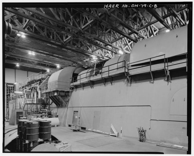 Wright-Patterson Air Force Base, Area B, Building No. 20A, Propeller Test Complex, Seventh Street, from E to G Streets, Dayton, Montgomery County, OH