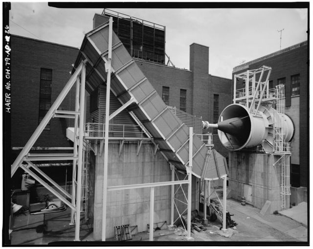 Wright-Patterson Air Force Base, Area B, Buildings 25 & 24,10-foot & 20-foot Wind Tunnel Complex, Northeast side of block bounded by K, G, Third, & Fifth Streets, Dayton, Montgomery County, OH