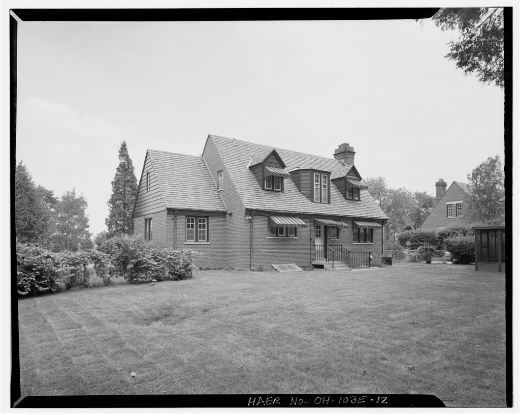 Wright-Patterson Air Force Base, Brick Officers' Quarters, Types G & H, Area A, Dayton, Montgomery County, OH