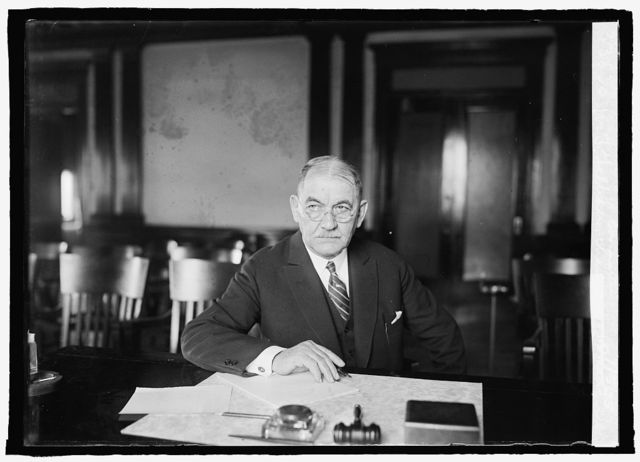 W.T. Galleher, Chairman of Inaugural Committee, 1/5/25
