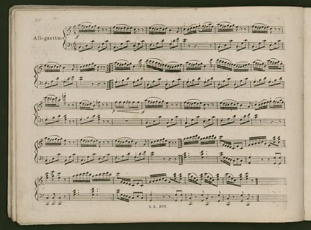 XII Petits Divertissements pour les jeunes dames divife's en trois livraifons pour le clavecin ou piano forte