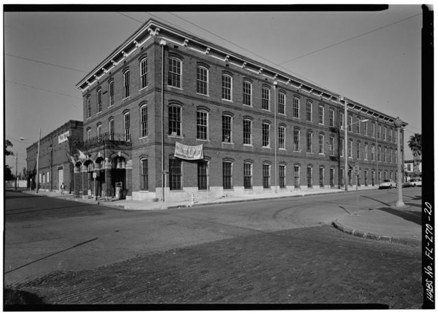 Ybor Cigar Factory, 1916 North Fourteenth Street, Tampa, Hillsborough County, FL
