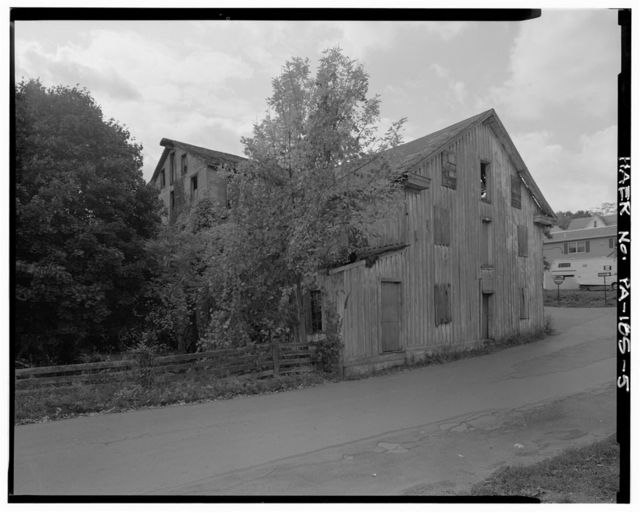 Yeager Grist Mill, Mill Road of Main Street, Yeagertown, Mifflin County, PA