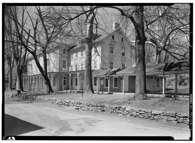 Yellow Springs Tavern, Yellow Springs & Art School Roads (West Pikeland Township), Chester Springs, Chester County, PA