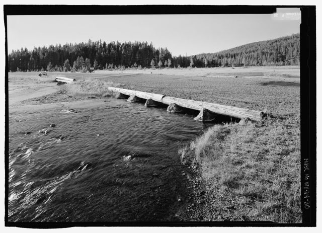 Yellowstone Roads & Bridges, Lake, Teton County, WY