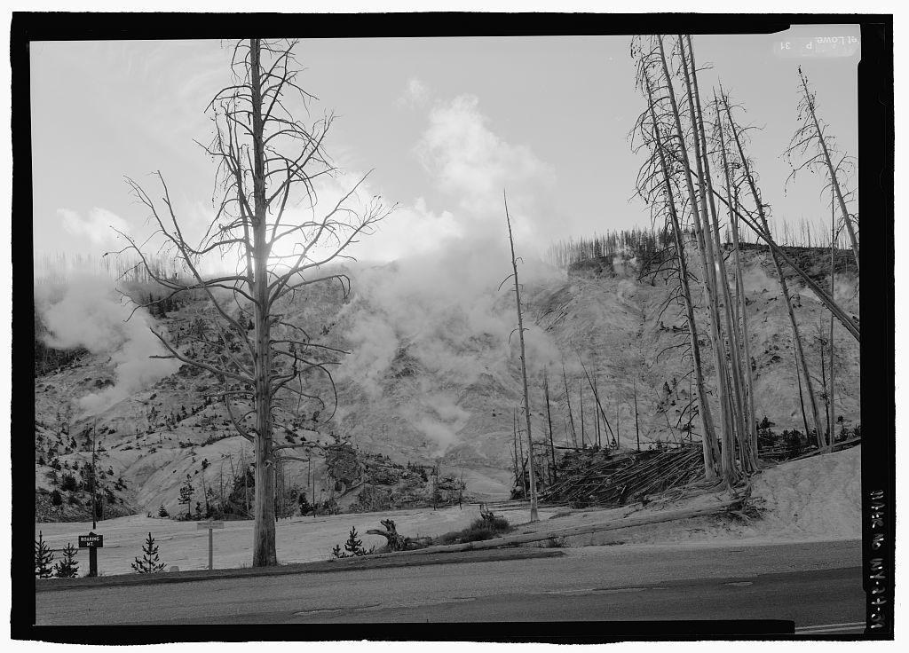 Yellowstone Roads & Bridges, Lake, Teton County, WY