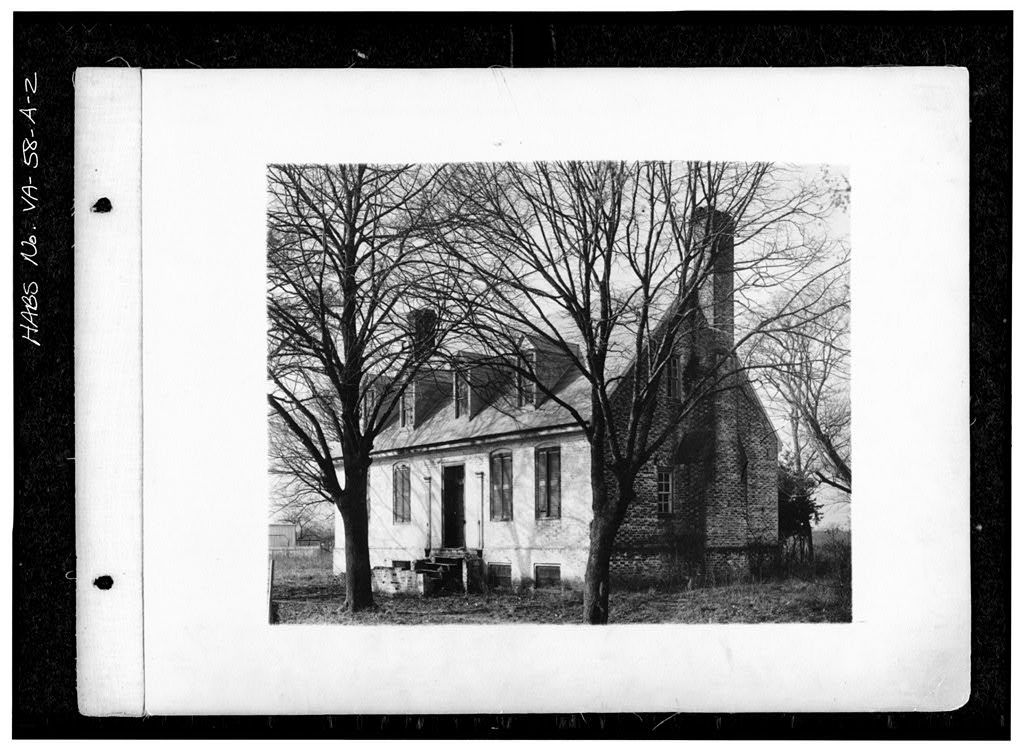 York Hall, Dependency (Guest House), State Route 1005 & Main Street, Yorktown, York County, VA
