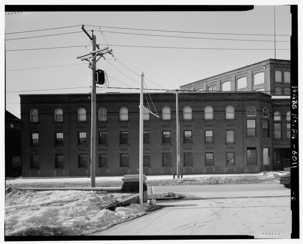 York Manufacturing Company, Bounded by West Philadelphia, North Hartley, & Roosevelt Streets, York, York County, PA
