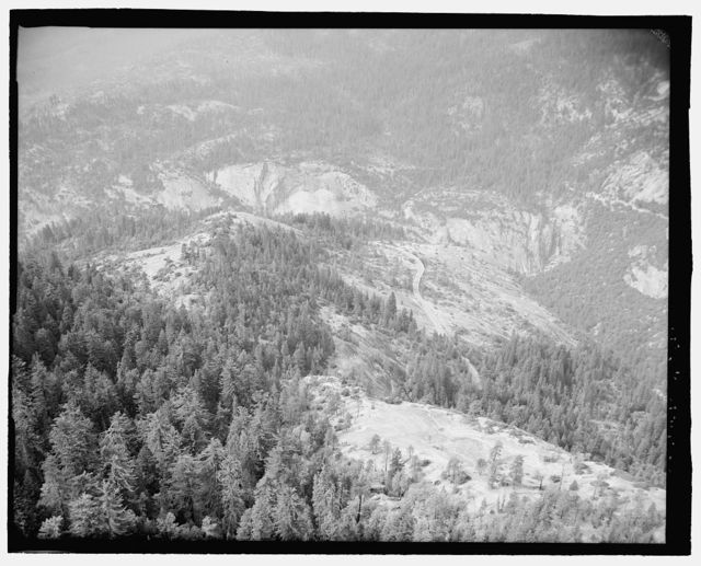 Yosemite National Park Roads & Bridges, Yosemite Village, Mariposa County, CA