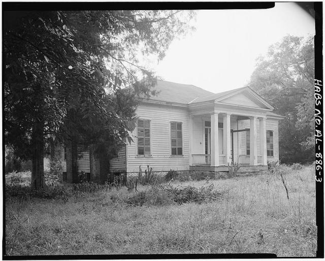 Young-Nall House, County Highway 40 at Lake Berry Road, Burkville, Lowndes County, AL