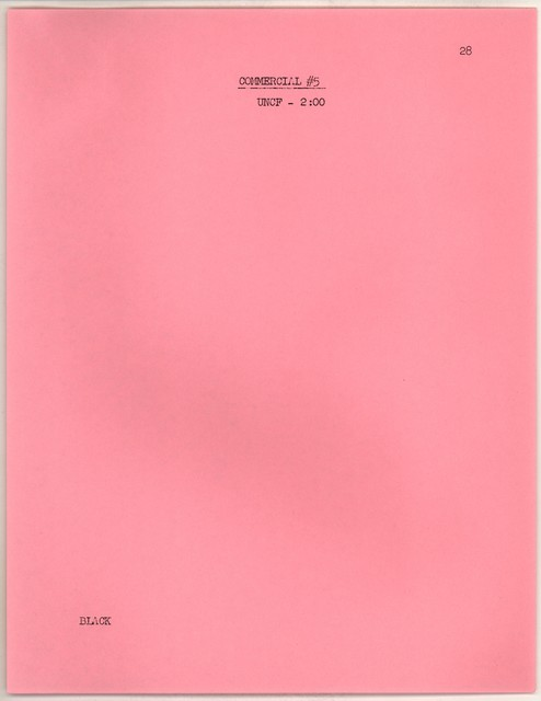 Young People's Concerts Scripts: Thus Spake Richard Strauss [typescript on pink paper with emendations in ink, pages 4, 15 & 27 are mimeo]