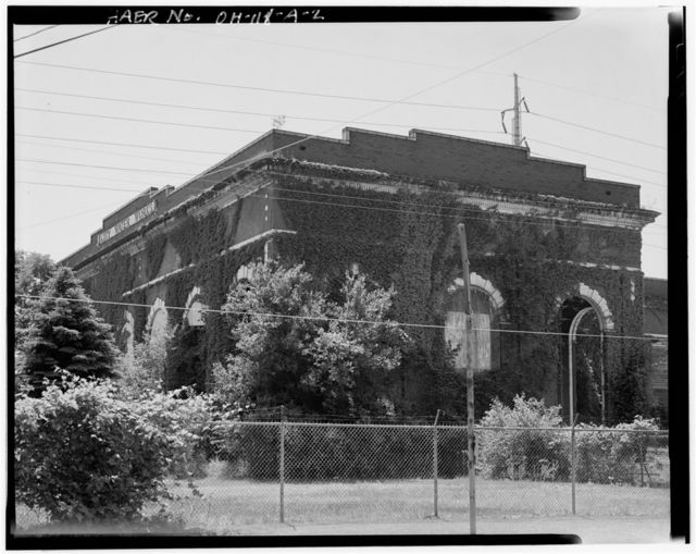 Youngstown City Water Works, Pump House, 160 North West Avenue, Youngstown, Mahoning County, OH