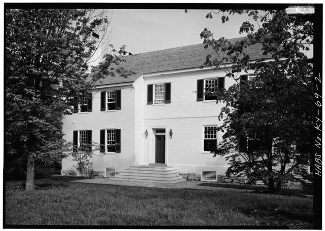 Zachary Taylor House, 5608 Apache Road (formerly Blankenbaker Lane), Saint Matthews, Jefferson County, KY