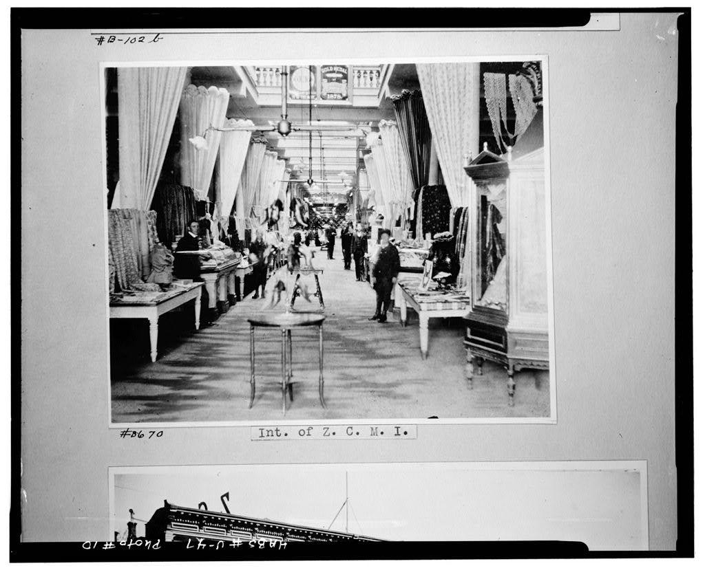 Zion's Cooperative Mercantile Institution, 15 South Main Street, Salt Lake City, Salt Lake County, UT