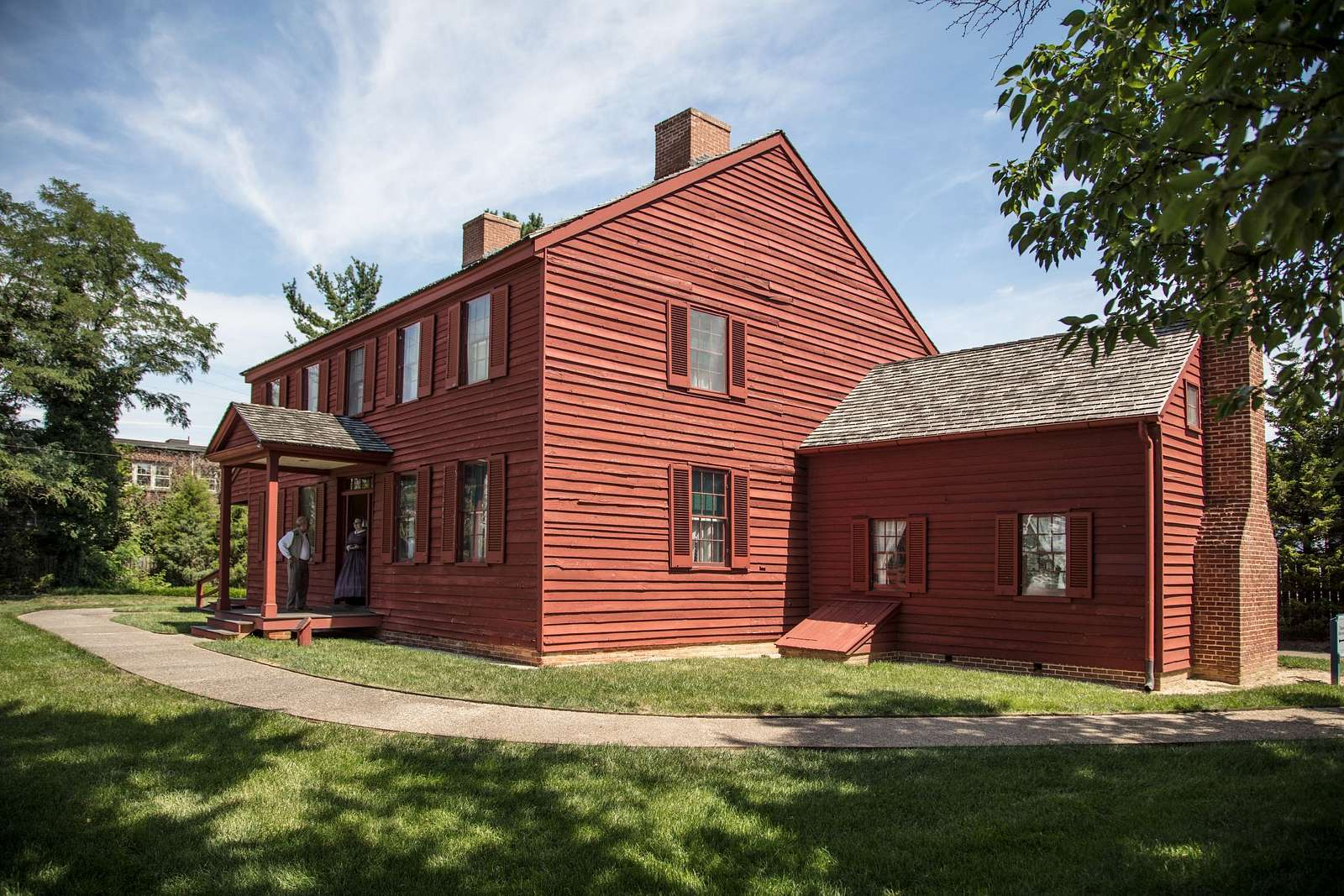 The Surratt House (also known as the Mary Surratt House and the Surratt House Museum) is a historic house and house museum located in Clinton (formerly Surrattsville), Prince George's County, Maryland