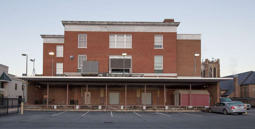 U.S. Courthouse in Harrisonburg, Virginia