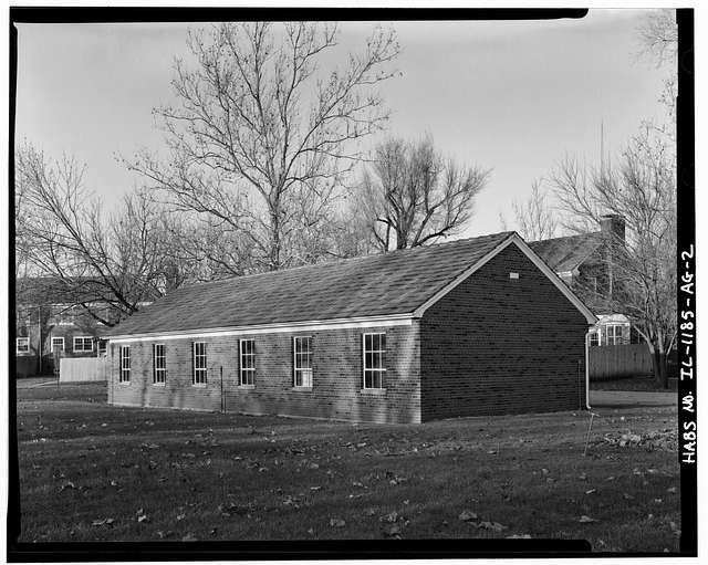 Chanute Air Force Base, Residential Garage, Senior Officer Row, Rantoul, Champaign County, IL