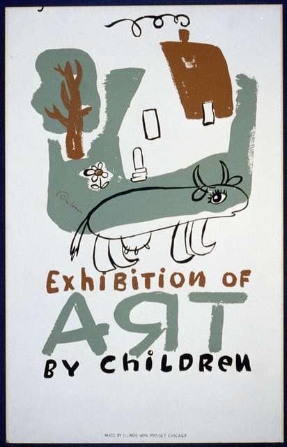 Exhibition of art by children / Osborn.