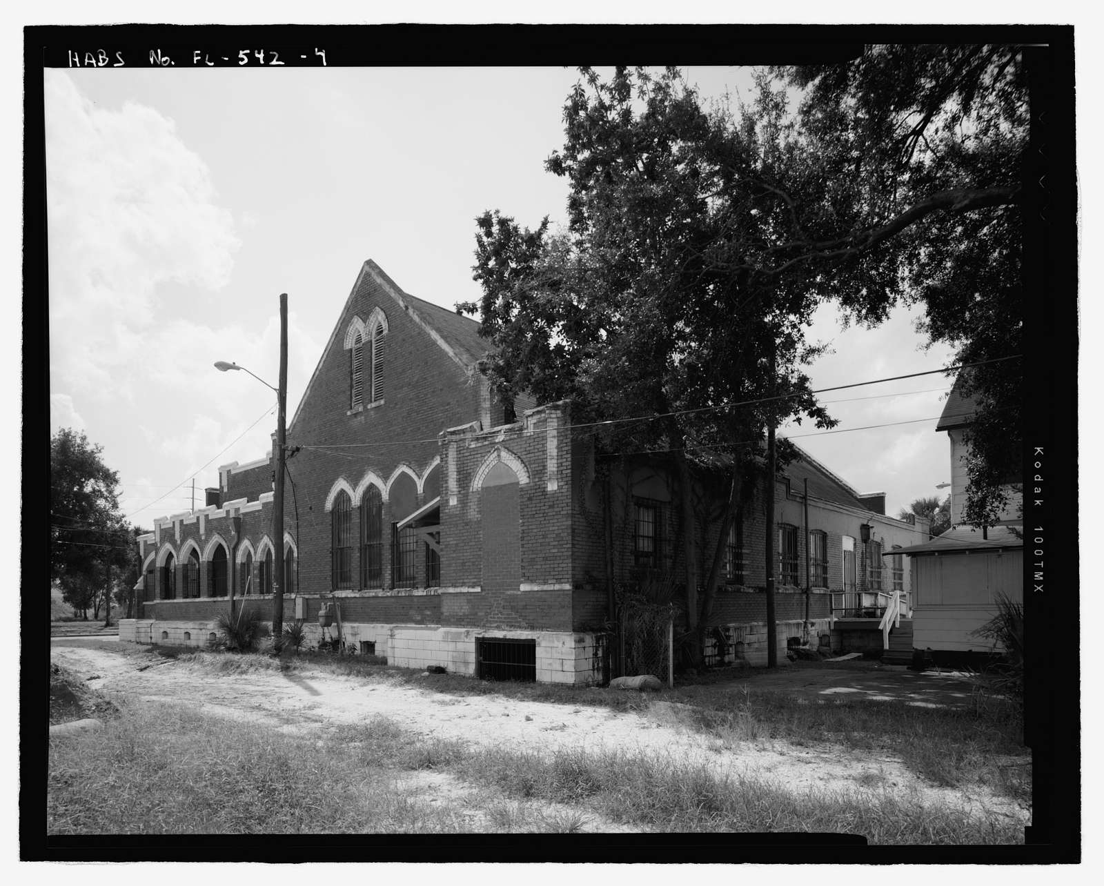 Faith Temple Missionary Baptist Church, 602 East Palm Avenue, Tampa, Hillsborough County, FL