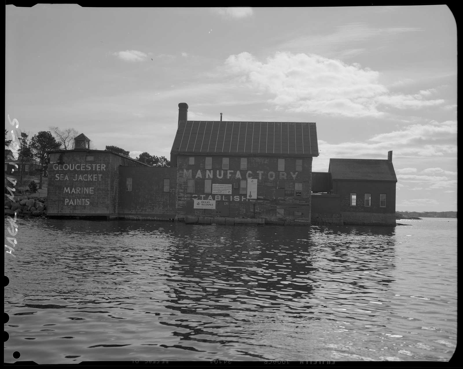 Tarr and Wonson Paint Factory, End of Horton Street, Gloucester, Essex County, MA