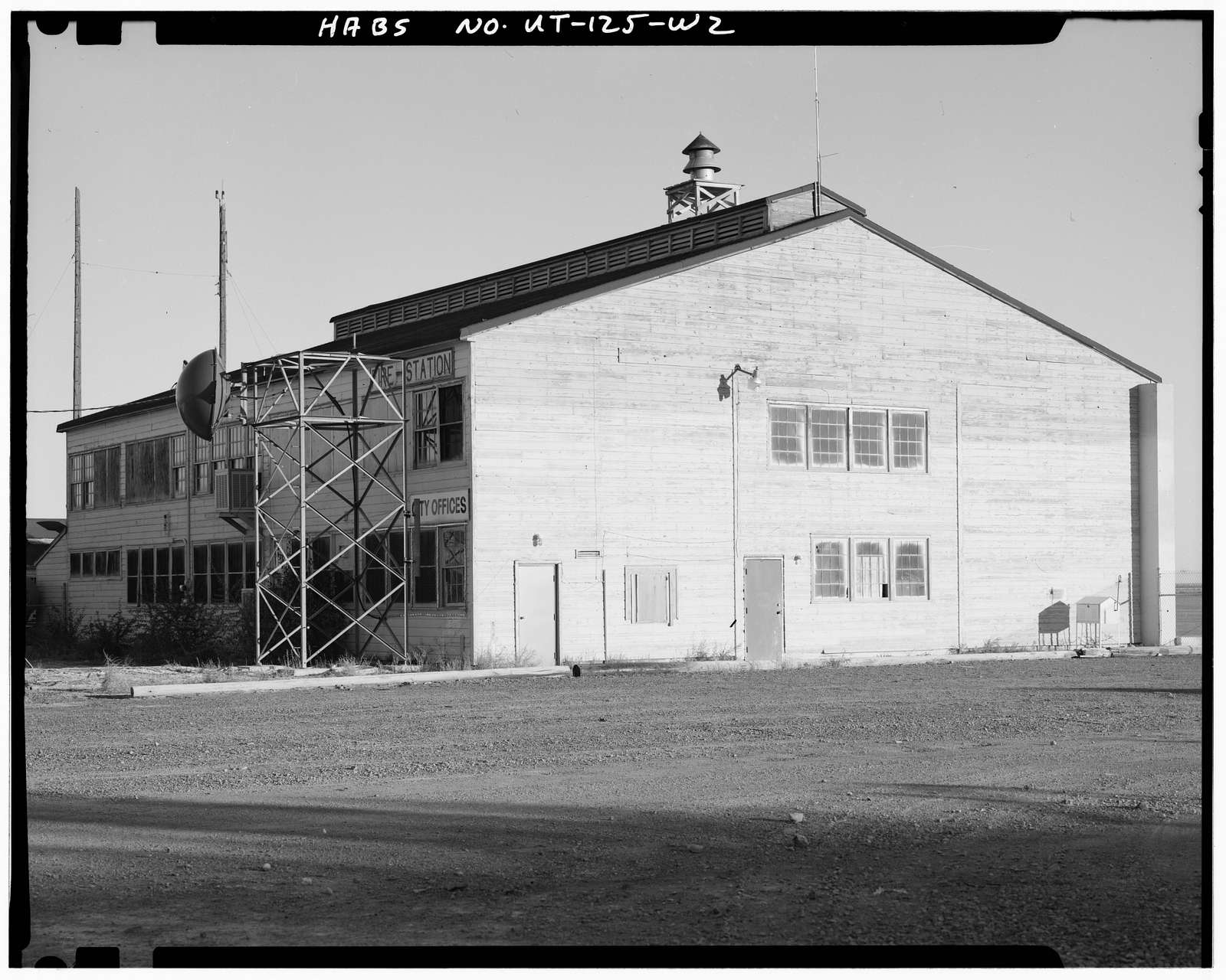 Wendover Air Force Base, Bomb Training Building, South of Interstate 80, Wendover, Tooele County, UT