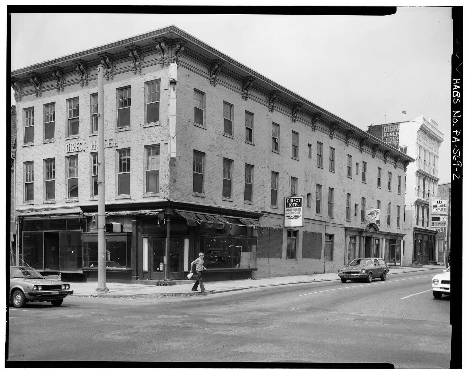 101-103 North George Street (Direct Hotel), York, York County, PA