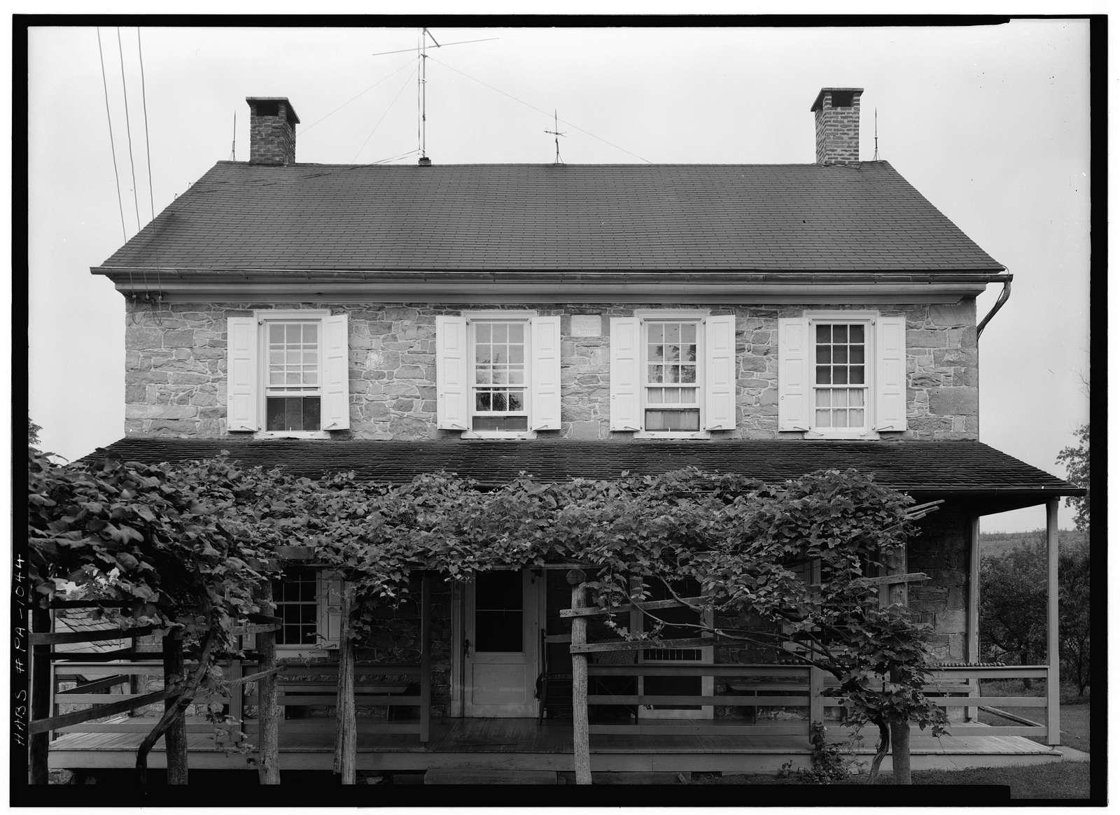 David Schneider House, (Oley Township), Oley Line, Berks County, PA