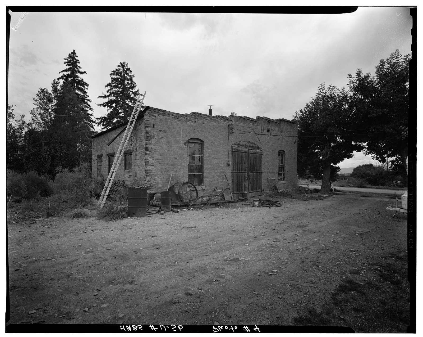 Fugal Blacksmith Shop, 650 North Fourth East Street, Pleasant Grove, Utah County, UT