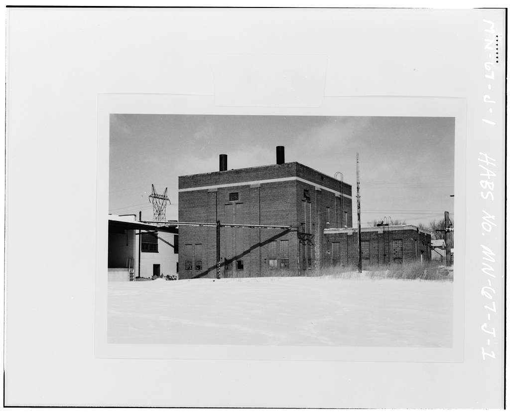 Jackson Street Shops, Power House, Jackson Street & Pennsylvania Avenue, Saint Paul, Ramsey County, MN