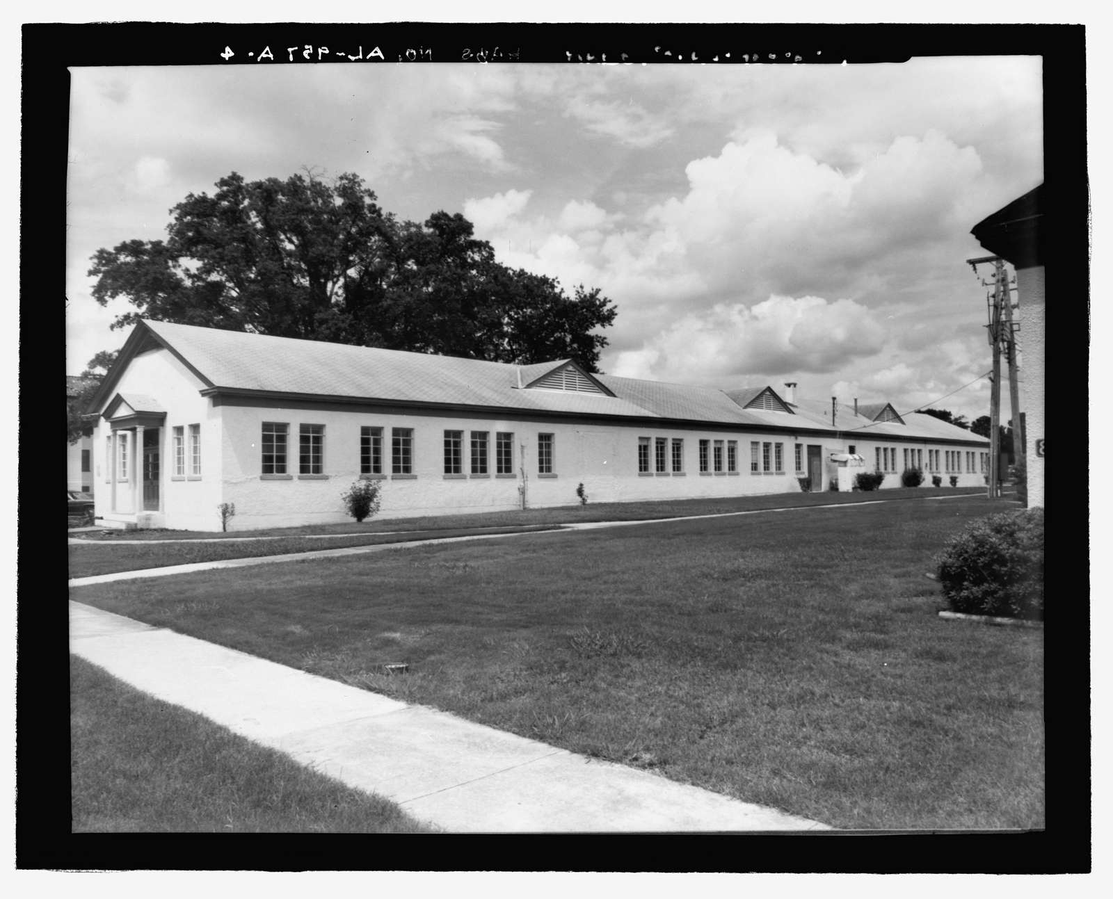 Maxwell Air Force Base, Post Office, 61 West Maxwell Boulevard, Montgomery, Montgomery County, AL