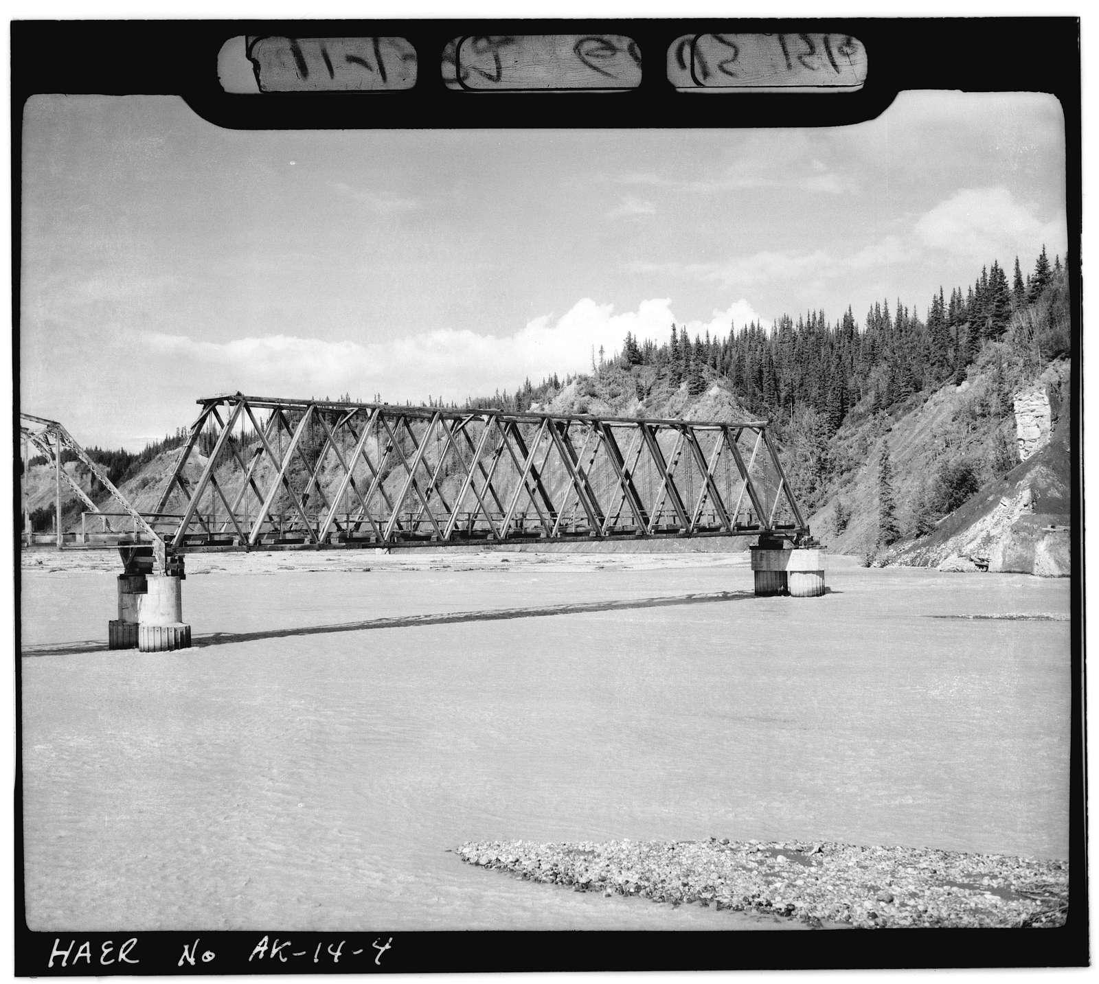 Nizina Bridge, Mile 8, Nizina Road, McCarthy, Valdez-Cordova Census Area, AK