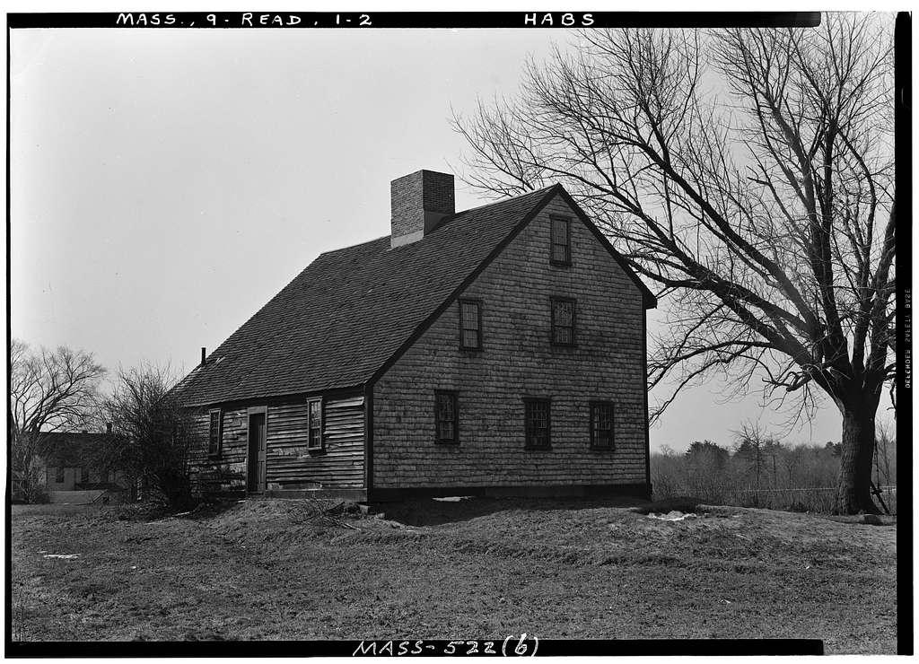 Parker Tavern, Washington Street, Reading, Middlesex County, MA