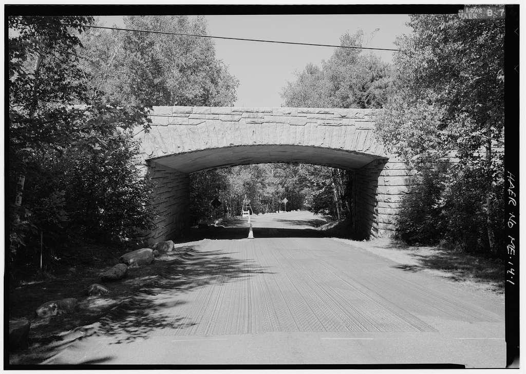 Sieur de Monts Spring Bridge, Spanning Park Loop Road at Route 3 near Sieur de Monts Spring, Bar Harbor, Hancock County, ME