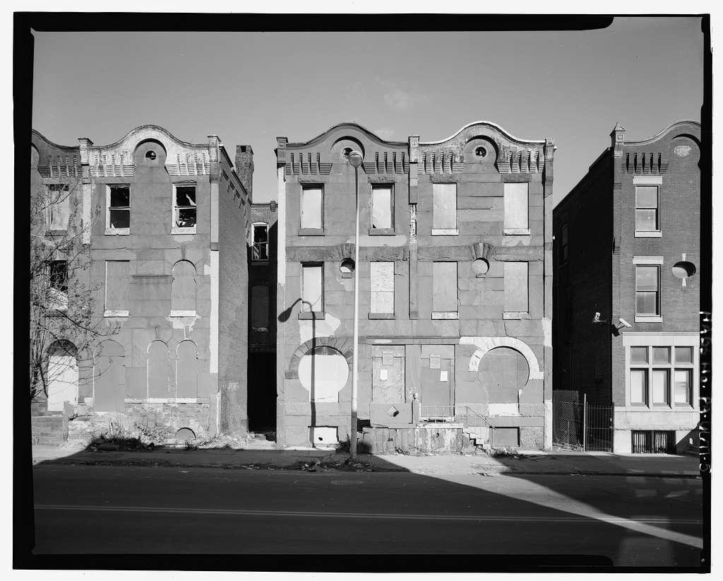 1800 Block Diamond Street (Houses), North side, Philadelphia, Philadelphia County, PA