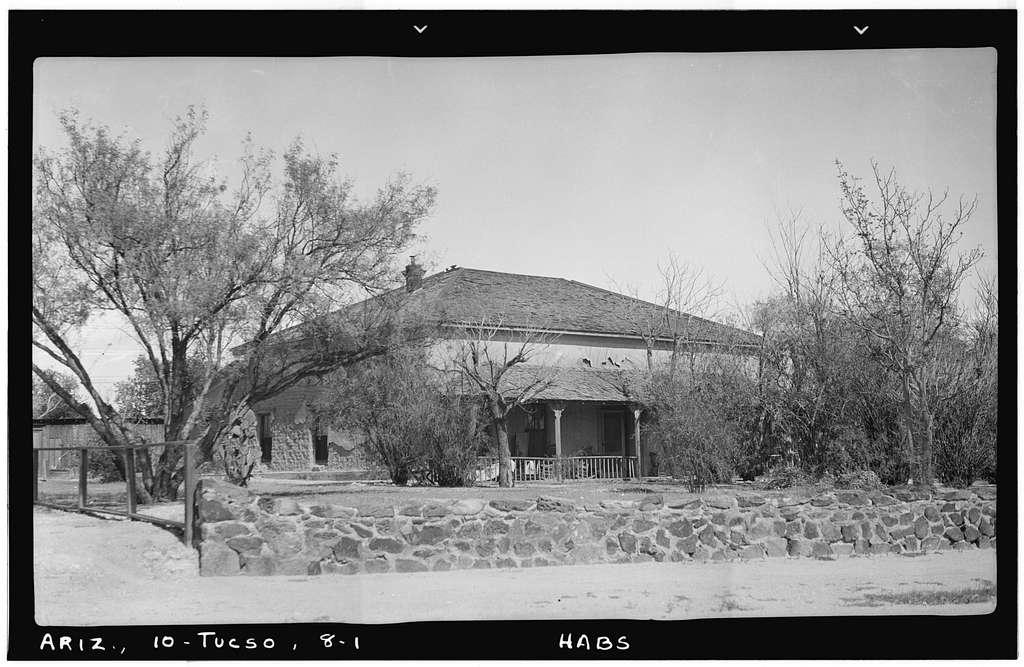 Feldman House, First Avenue & Second Street, Tucson, Pima County, AZ