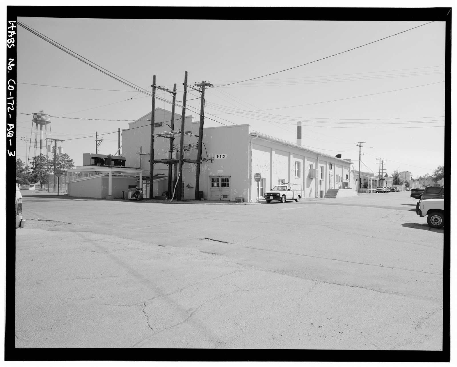 Fitzsimons General Hospital, Ice Plant, Southwest Corner of East I Avenue & North Thirteenth Street, Aurora, Adams County, CO