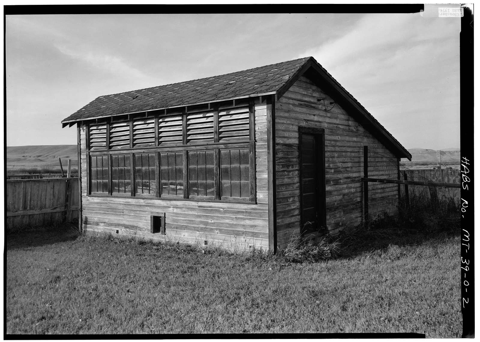 Grant-Kohrs Ranch, Chicken House, Highway 10, Deer Lodge, Powell County, MT