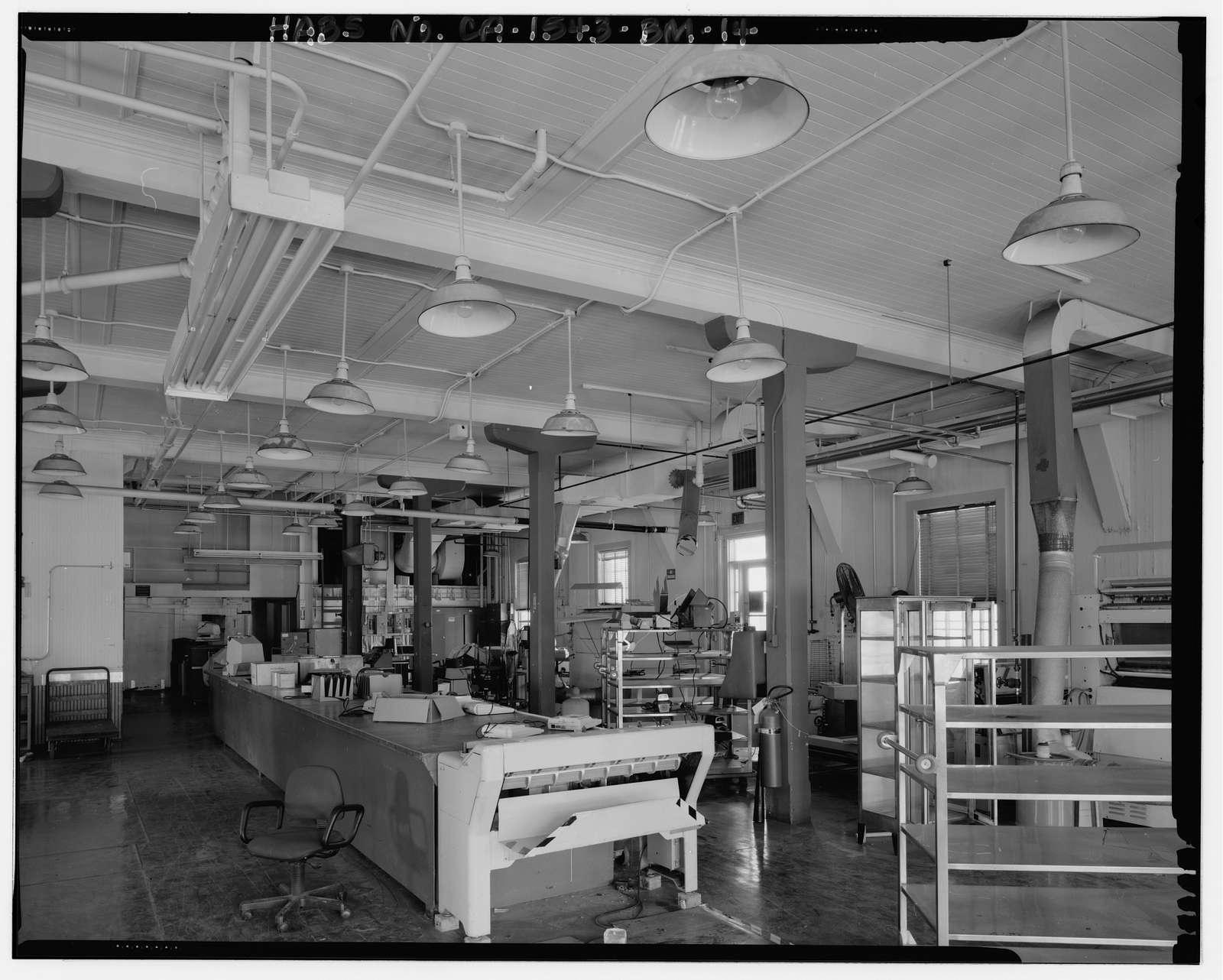 Mare Island Naval Shipyard, Printing Plant, California Avenue, northwest corner of California Avenue & Eighth Street, Vallejo, Solano County, CA