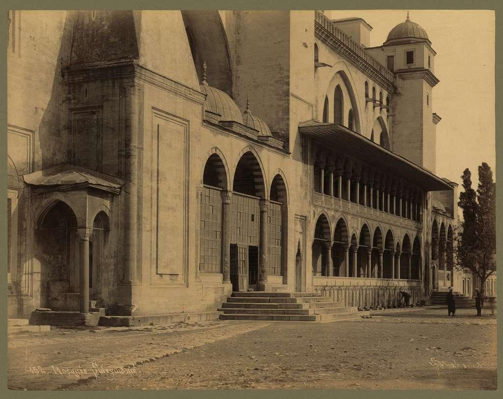 Mosquée Suleymanié / Sébah & Joaillier.