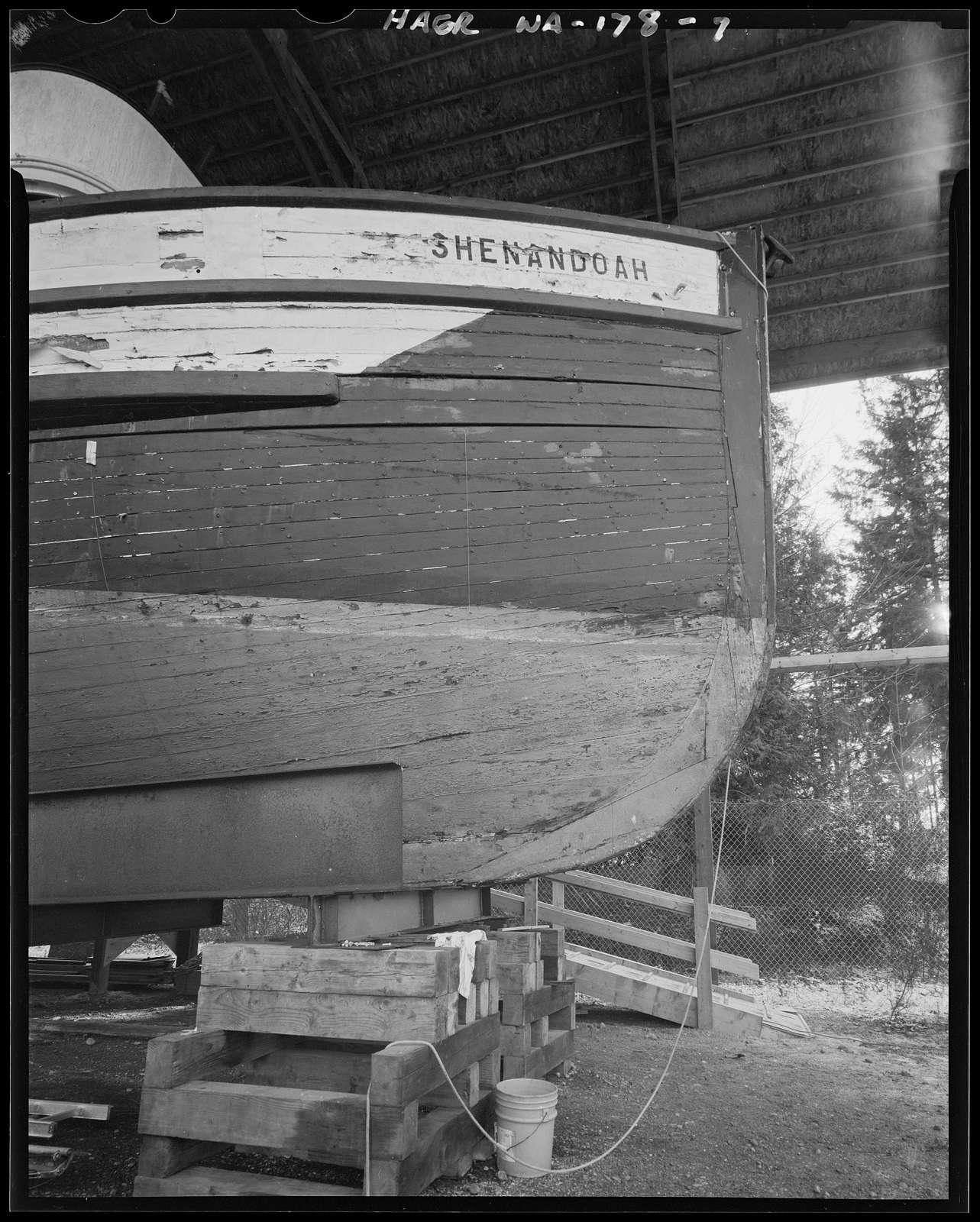 Purse Seiner SHENANDOAH, Gig Harbor Peninsula Historical Society and Museum, Gig Harbor, Pierce County, WA