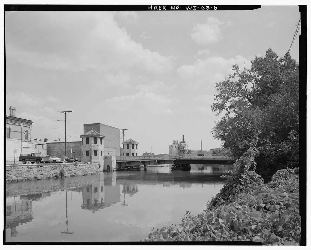 Tayco Street Bridge, Spanning Government Canal at Tayco & Water Streets, Menasha, Winnebago County, WI
