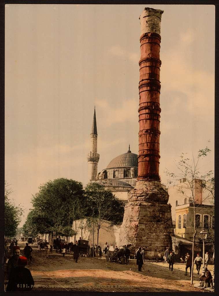 [The burnt column, Constantinople, Turkey]