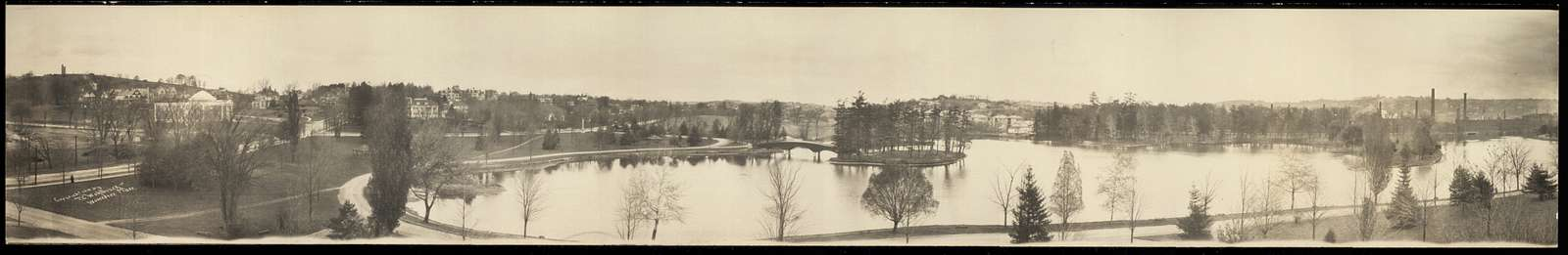 [Worcester, Ma., Bancroft Hill and Institute Park]