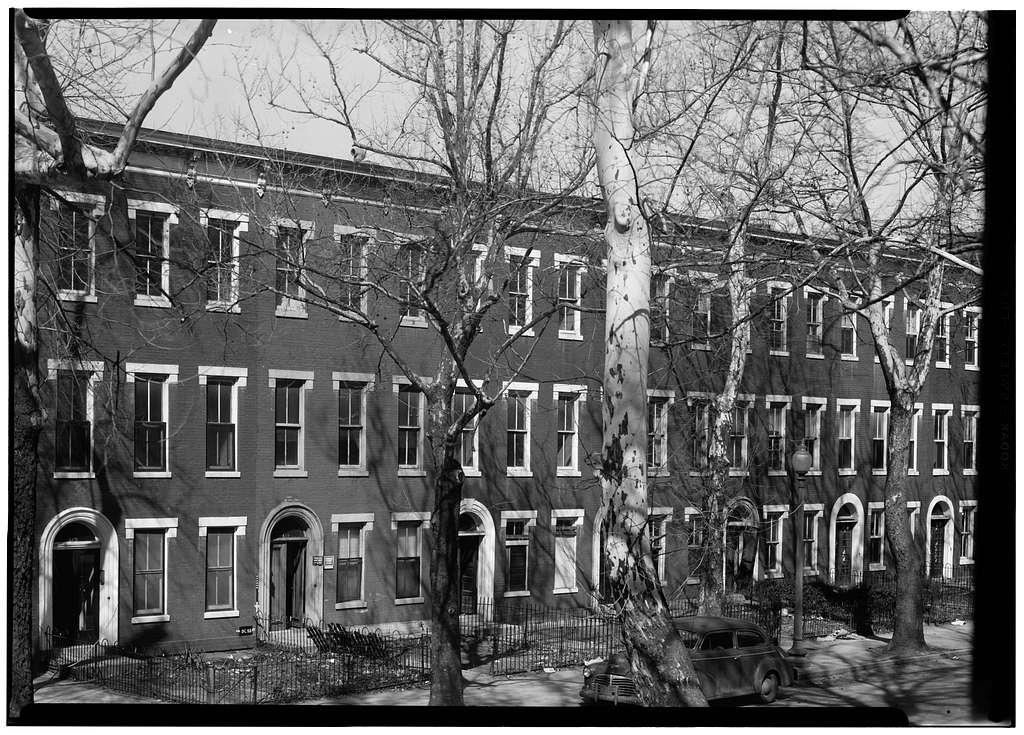 601-613 Sixth Street Southwest (Row Houses), Washington, District of Columbia, DC