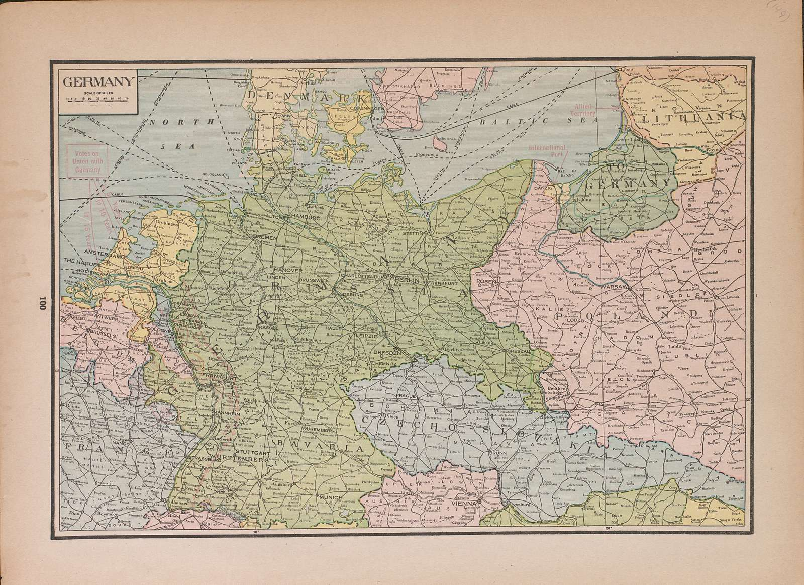 Atlas of Plymouth County, Iowa : containing maps of townships of the county, maps of state, United States and world : farmers directory.