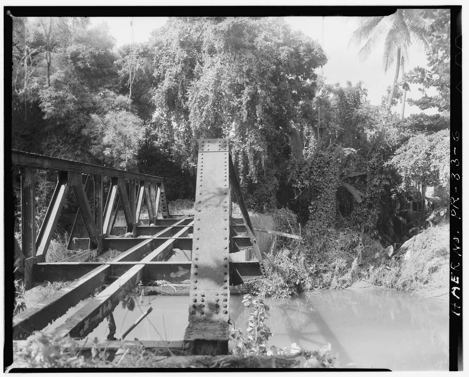 Batey Columbia Railroad Bridge, Spanning Maunabo River, Maunabo, Maunabo Municipio, PR