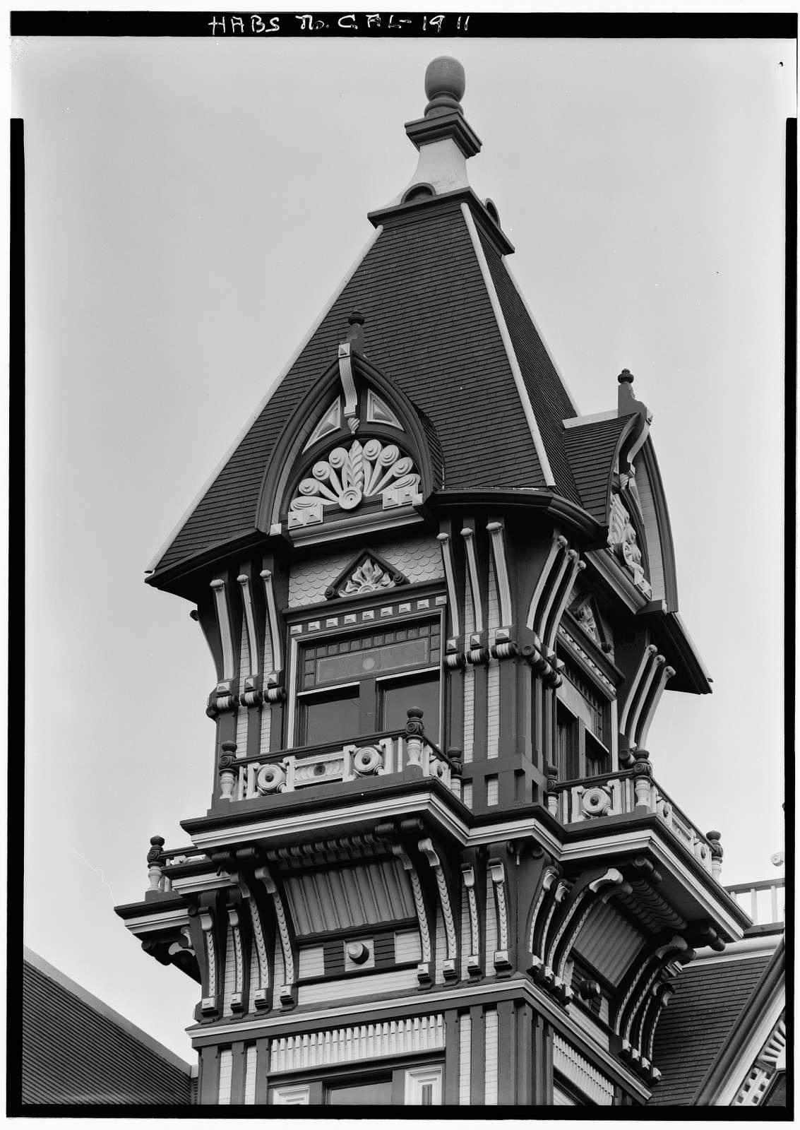 Carson House, Eureka, Humboldt County, CA