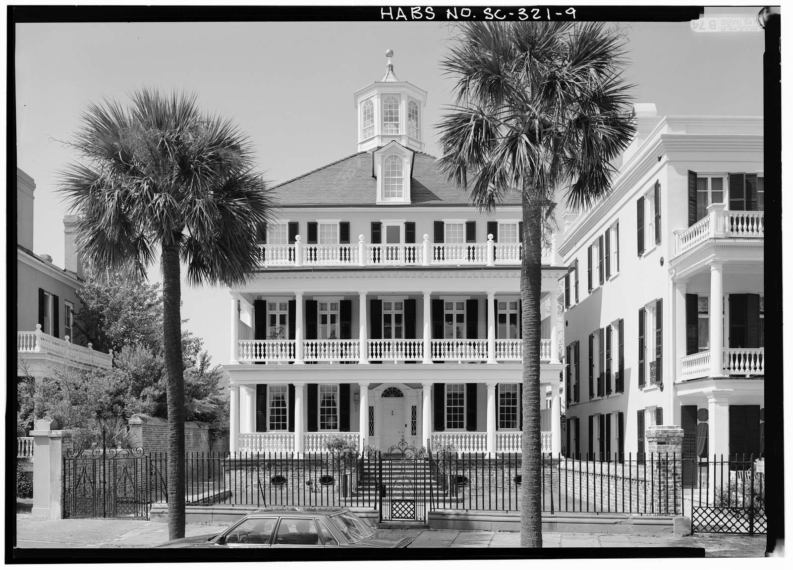 Colonel John Ashe House, 32 South Battery Street, Charleston, Charleston County, SC